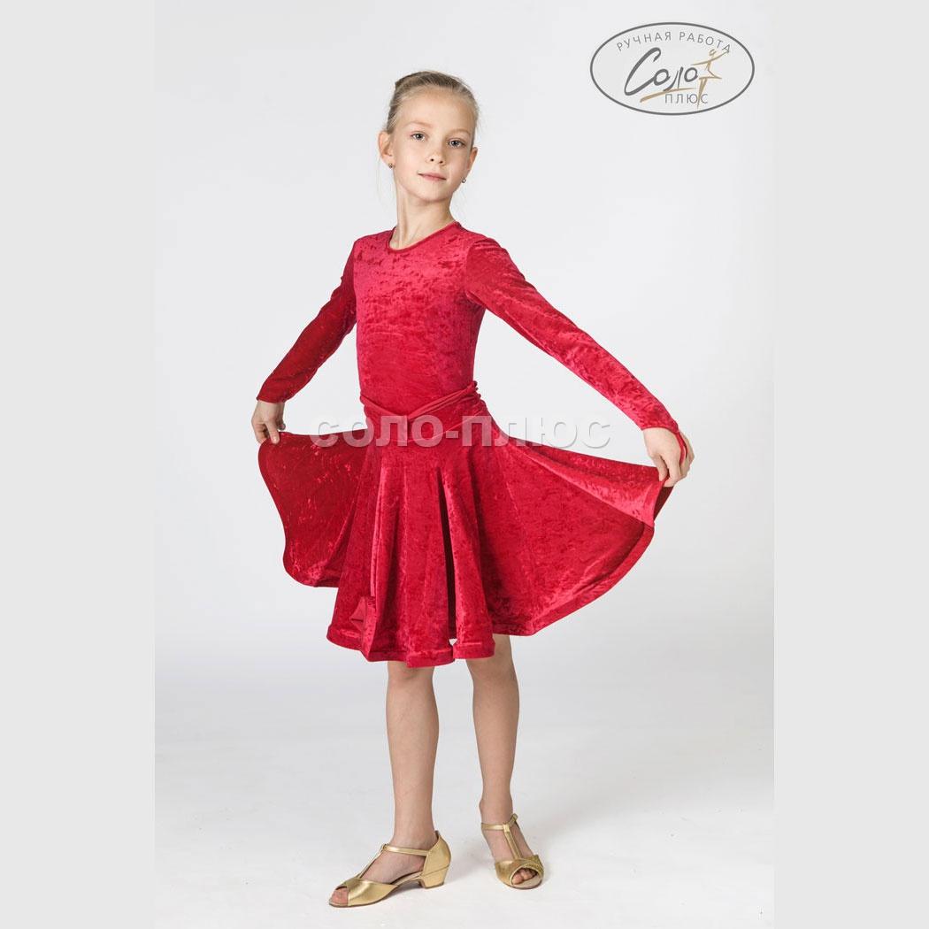 Как сшить детское платье для танцев